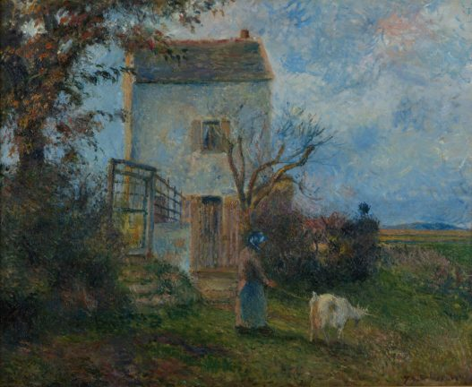 Camille Pissaro French (1830-1903) La Ferme Oil on canvas, 1879 Gift of the L. C. and Margaret Walker Foundation 1976.18