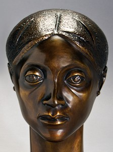Elizabeth Catlett American, 1915-2012 Glory, 1981 Bronze Muskegon Museum of Art Gift of the Drs. Osbie and Anita Herald Fund 2000.1