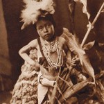 Awaiting Return of Snake Dancers Hopi