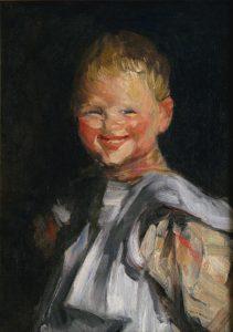 Laughing Child by Robert Henri