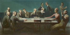 The Locked Jury by Guy Pene Du Bois