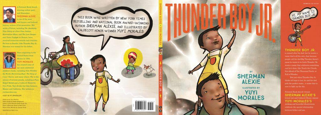Yuyi Morales Thunder Boy Jr. Cover