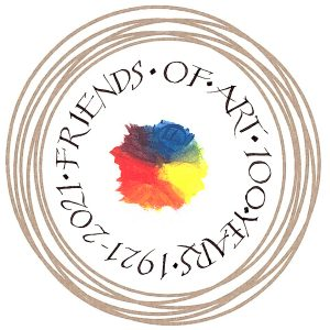 friendsofart100yearlogo